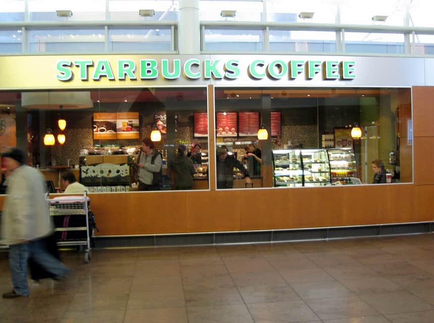 Starbucks Brussel Airport