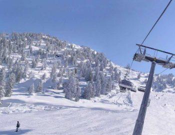 Het sneeuwt in Oostenrijk!