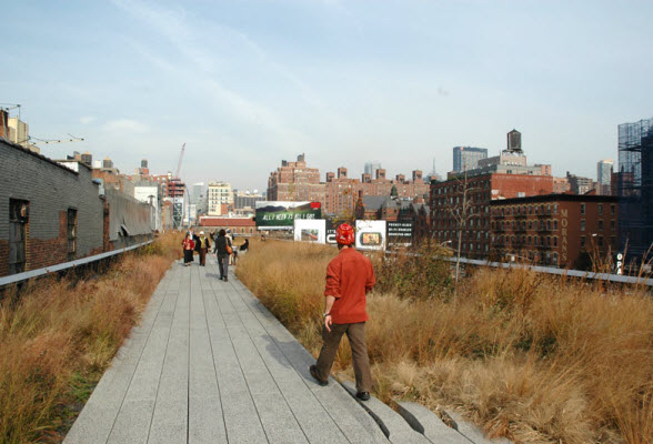 De High Line Manhattan