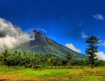 Vulkaan Filippijnen staat op springen