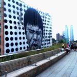 Wandelpromonade boven Manhattan
