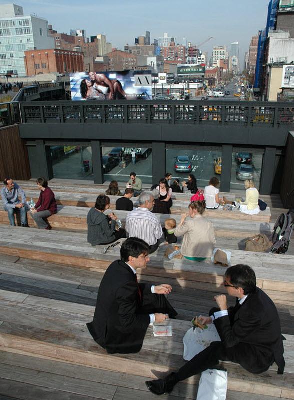 De High Line: wandelpromonade boven Manhattan