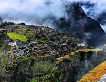 Toeristen vast in Machu Picchu