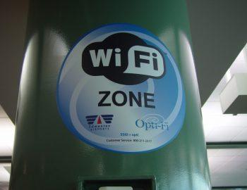 Overzicht vliegvelden met WiFi