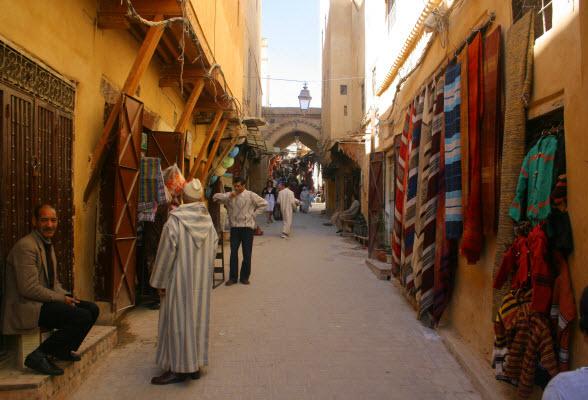 winkels markt fez