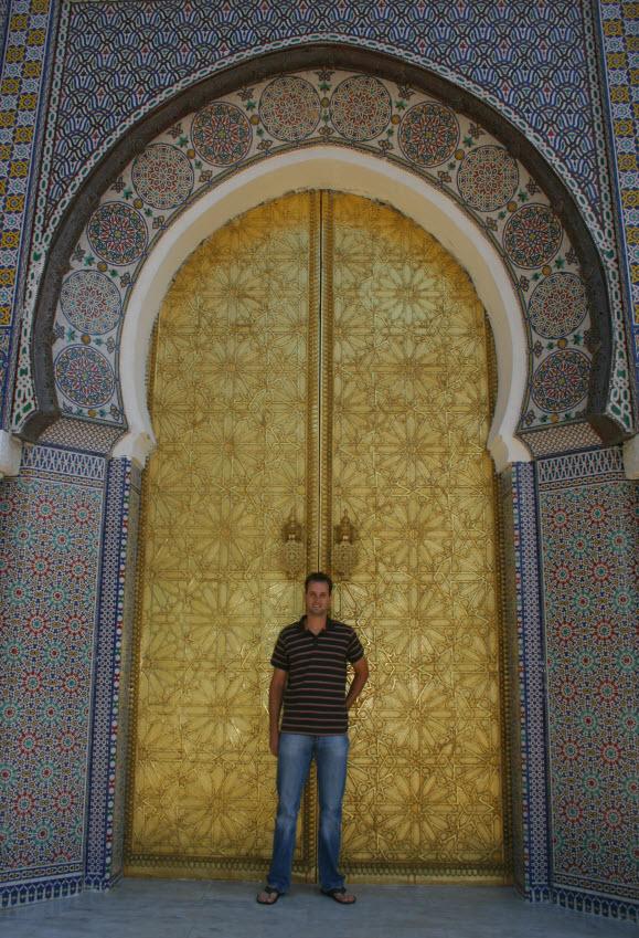 koninklijk paleis Fez Marokko
