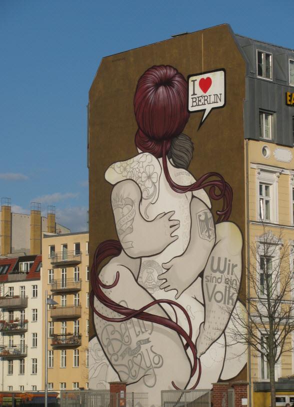 Berlijn-kunst