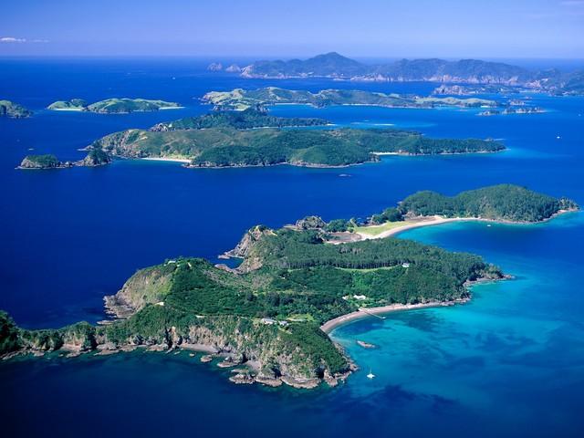 Bay of Islands in Nieuw Zeeland