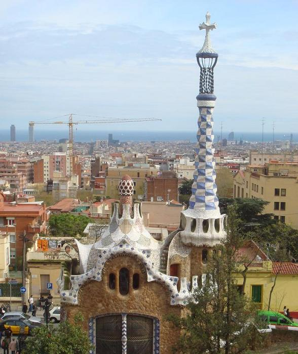 Barcelona, de stad van Gaudi