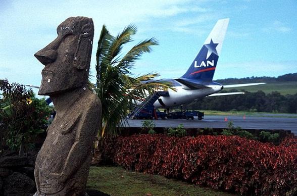 Mataveri Airport op Paaseiland