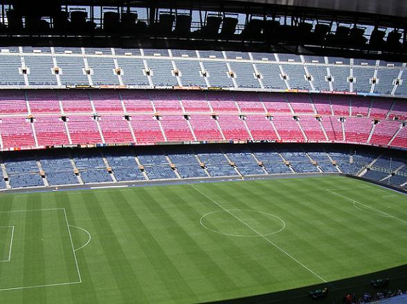 Nou camp, Barcelona, 2005