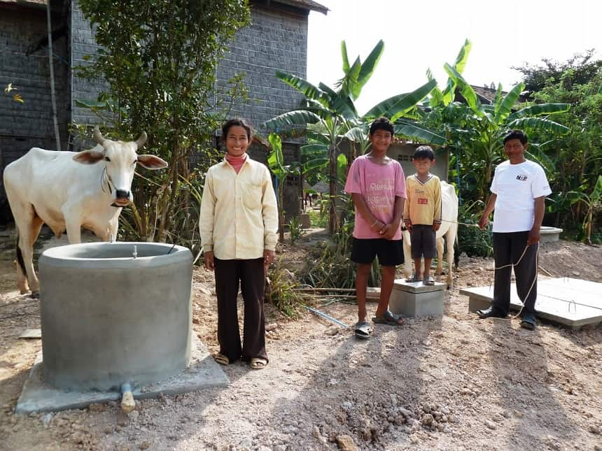 Biovergisting, of ook wel Co-vergisting genoemd, is het winnen van biogas uit een mengsel van mest en organische restproducten