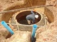 De bouw van een kleinschalige biogasinstallatie.
