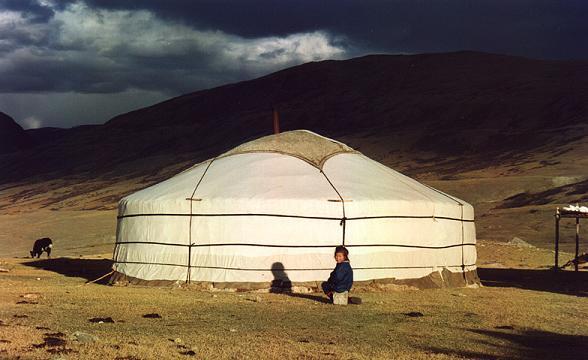 Een Mongolische ger