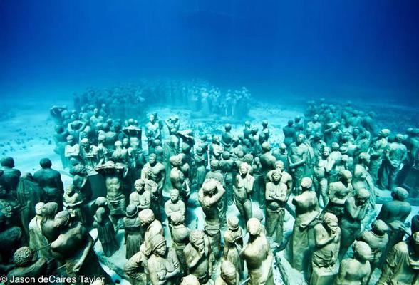 Onderwatermuseum Cancun