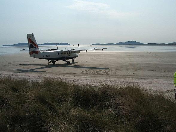 Barra Airport, Schotland