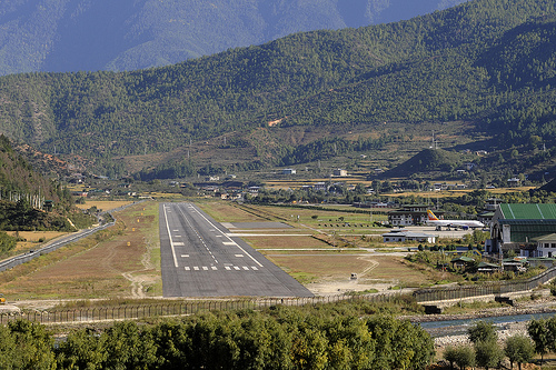 Paro Bhutan  city pictures gallery : Paro Airport, Bhutan