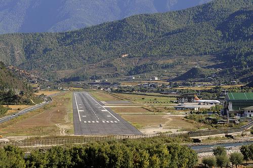 Paro Bhutan  city photos gallery : Paro Airport, Bhutan