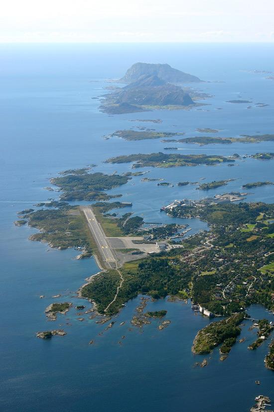 De meest uitdagende landingsbanen ter wereld