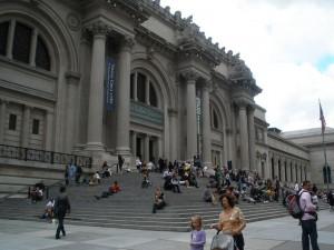 Het MET of Metropolitan Museum of Art. Geen dieren in dit museum maar een uitgebreide verzameling van kunst over de hele wereld.