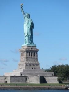 Het Vrijheidsbeeld, Liberty Island