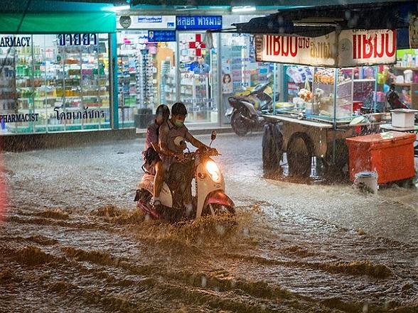 Thailand getroffen door natuurgeweld