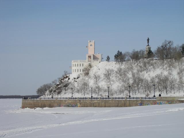 rivier de amur rusland