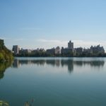 Het uitzicht in Central Park