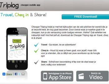 Travel, cheq in & share