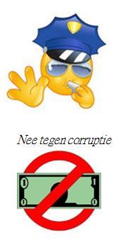Zeg nee tegen corruptie!