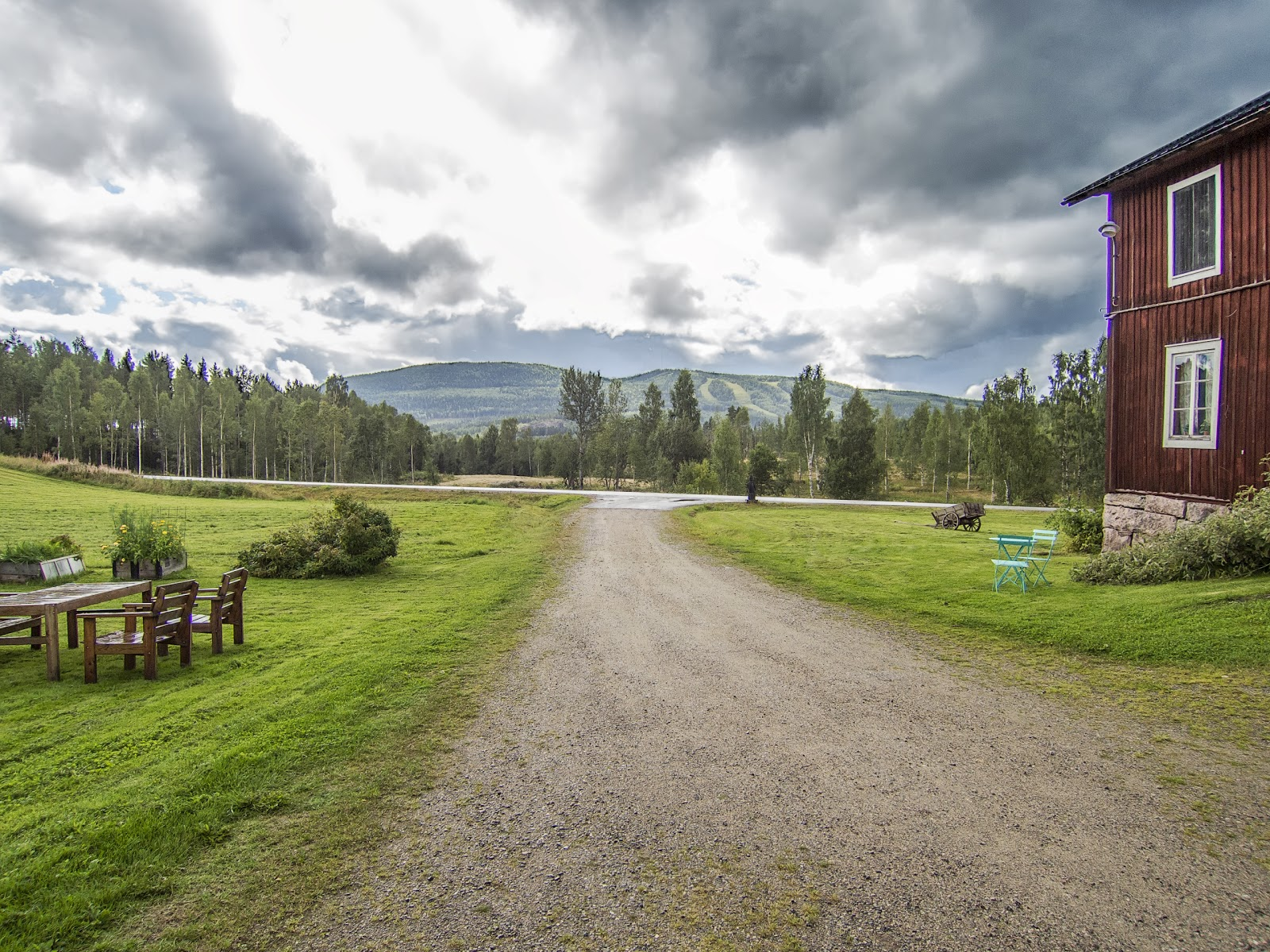 Meer Zweedse Inspiratie : Verrassend zweden het rädsjön meer en bergdorp fryksås