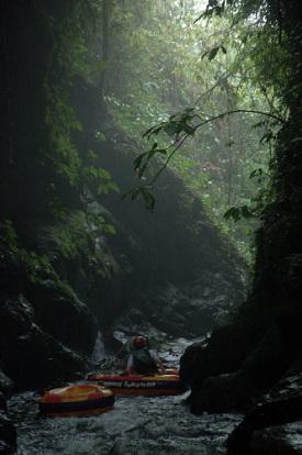 Bali White Water River Tubing