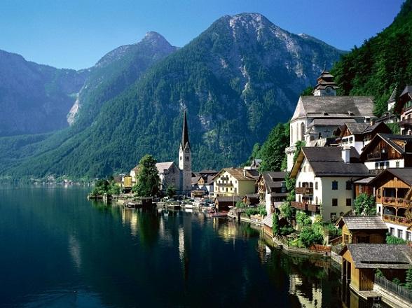 Het idyllische Oostenrijkse bergdorpje Hallstatt