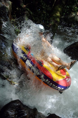 Bali White Water River Tubing
