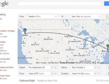 Google lanceert Google Flights