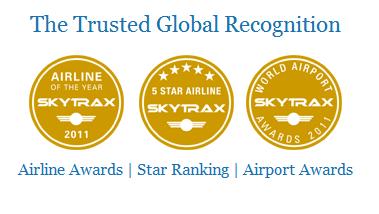 Het Britse onderzoekbureau Skytrax beoordeelt sinds 1989 luchthavens en vliegmaatschappijen wereldwijd op service en kwaliteit. Skytrax is onder andere bekend van de jaarlijkse World Airlines Awards en de World Airport Awards.