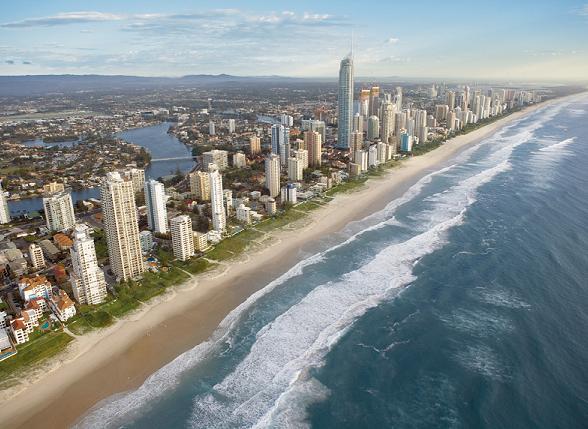 Surfers Paradise, Goldcoast, Queensland, Australie
