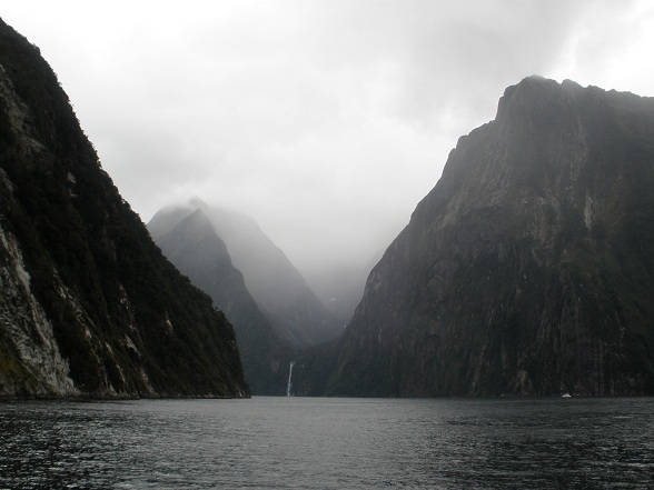 Een cruise door de Milford Sound