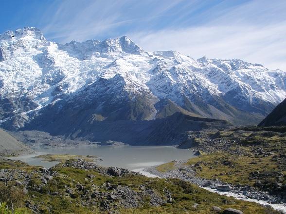 Top tien Nieuw-Zeeland: Mount Cook