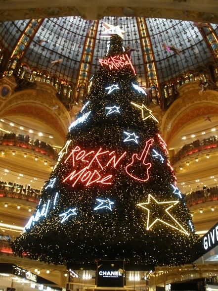 Kerstshoppen in Parijs