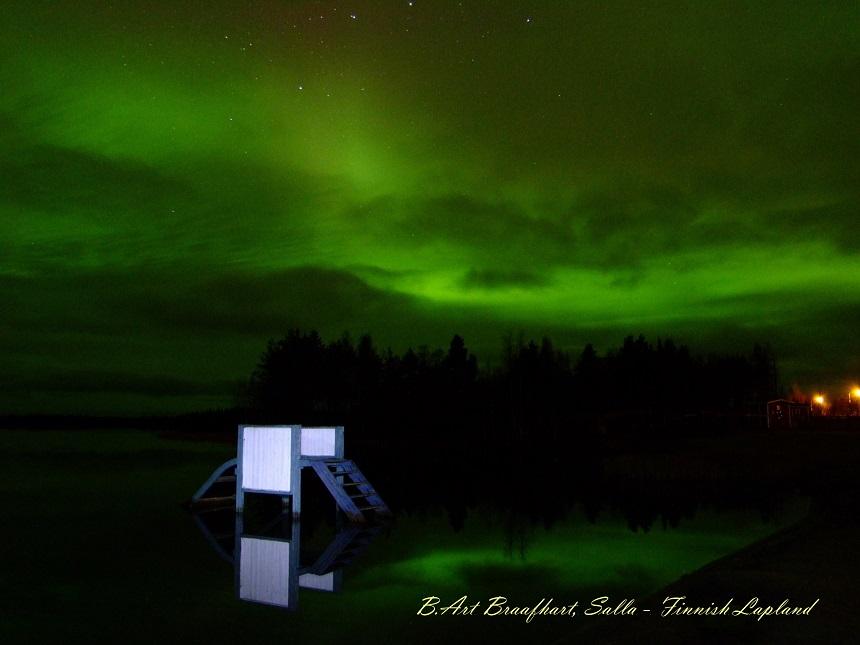 Noorderlicht Fins Lapland - B.Art Braafhart 31.10.2011