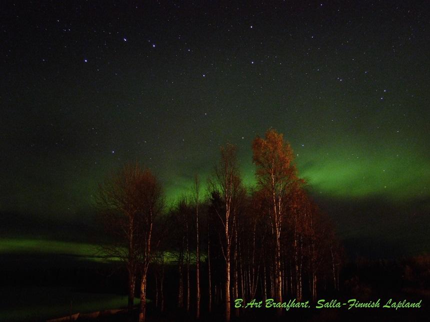 Noorderlicht Salla Fins Lapland, B.Art Braafhart, 01.10.11