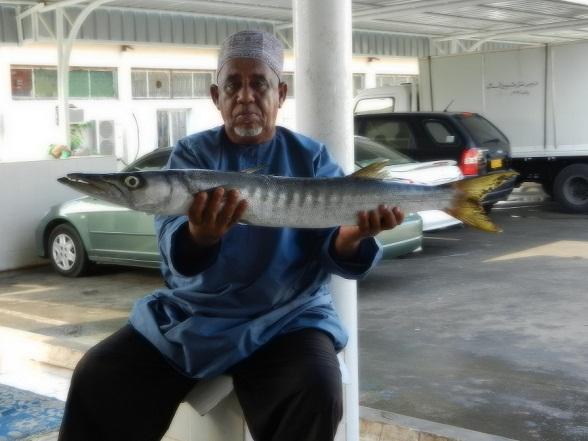 Verse vis, vismarkt van Muscat