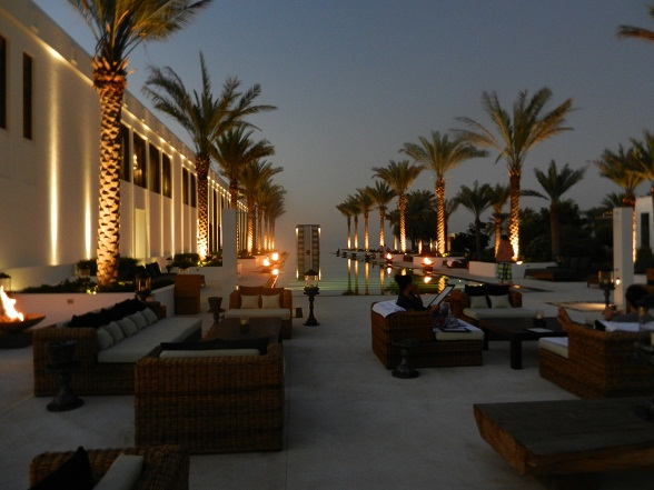 Vijfsterrenhotel The Chedi in Muscat