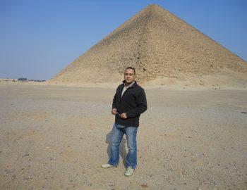 Toeristisch Cairo tijdens revolutie
