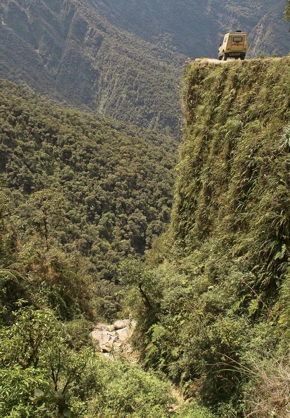 De dodenweg van Bolivia