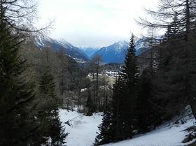 panorama tijdens wandeling