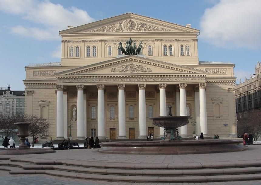 Bolsjoj theater Moskou