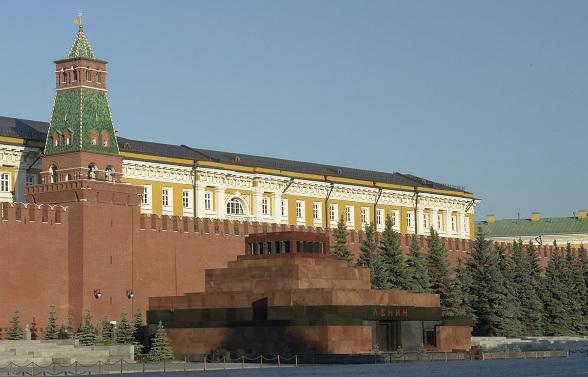 Mausoleum Lenin Moskou