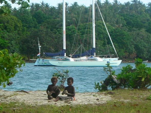Vanuit Australie vervolgt Henk de Velde de reis via the happy islands van Papoea-Nieuw-Guinea naar de paradijzen van Micronesië